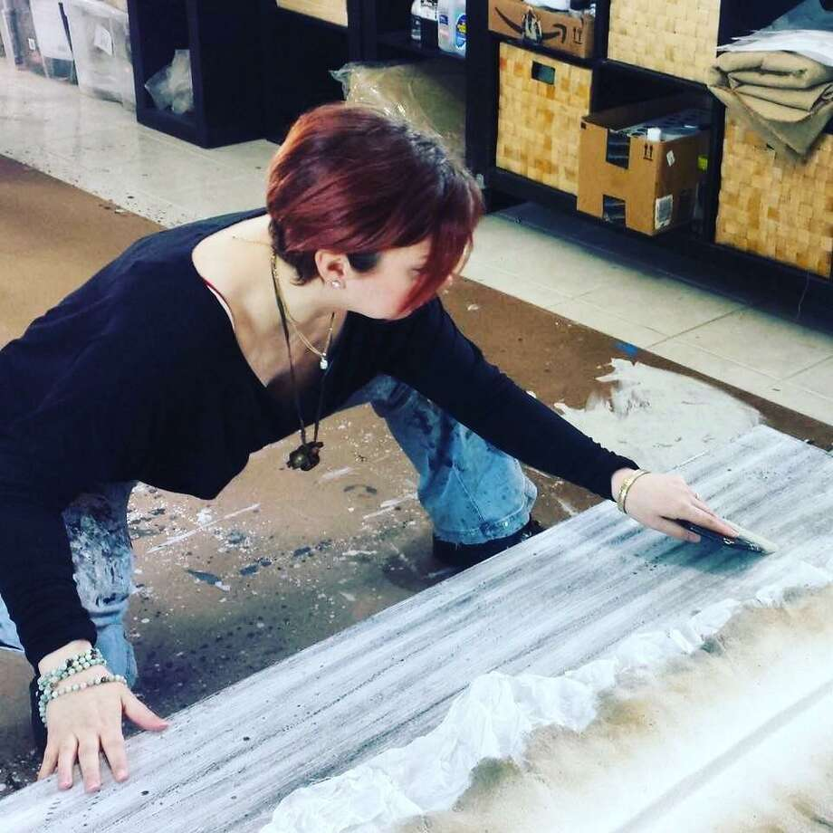 The Hen's Nest Gallery will host a reception for mixed-media artist Amber Maida on Saturday, Aug. 18. Photo: Contributed Photo