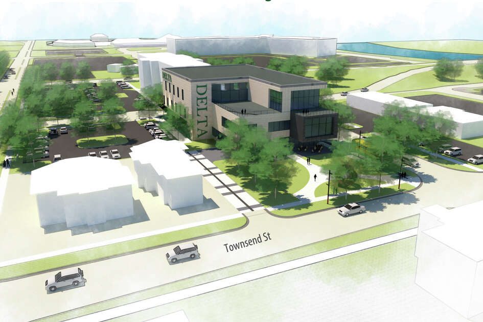 On Aug. 14, the Delta College Board of Trustees approved the site for its new Midland Center for the block surrounded by Ellsworth, Townsend, Buttles and Cronkright streets.