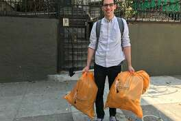 Jeff Winkle picking up garbage in San Francisco. Why? Because he thinks it�s the right thing to do.