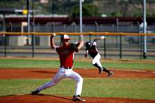 Norwalk's Brendan Edvardsen pitched a two-hitter Tuesday in the Babe Ruth World Series.