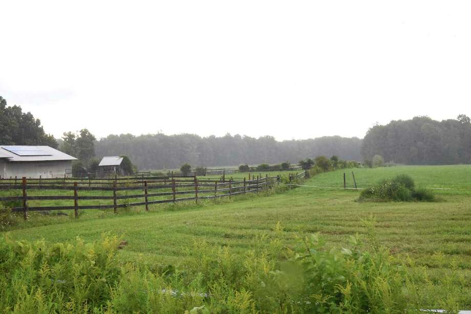 Farmland along Goode St. on Tuesday, Aug. 14, 2018 in Ballston N.Y. It appears that the Ballston Town Board will now allow development in the protected AG district. (Lori Van Buren/Times Union) Photo: Lori Van Buren / 20044551A