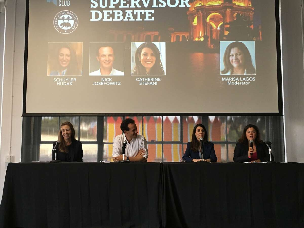 San Francisco's District Two candidates came together on Tuesday Aug. 14, 2018 for a debate.