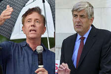 Ned Lamont and Bob Stefanowski for homepage tab