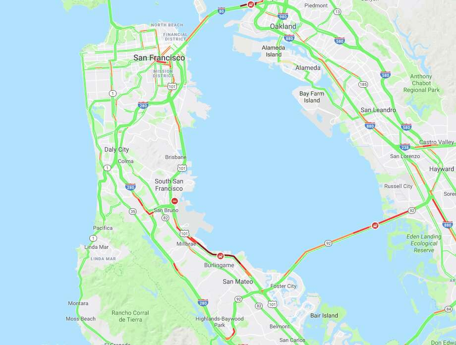 Two crashes — one fatal — cause severe traffic for Bay Area