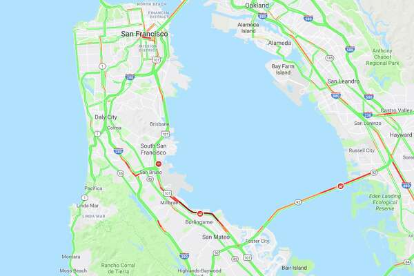 Two Crashes One Fatal Cause Severe Traffic For Bay Area