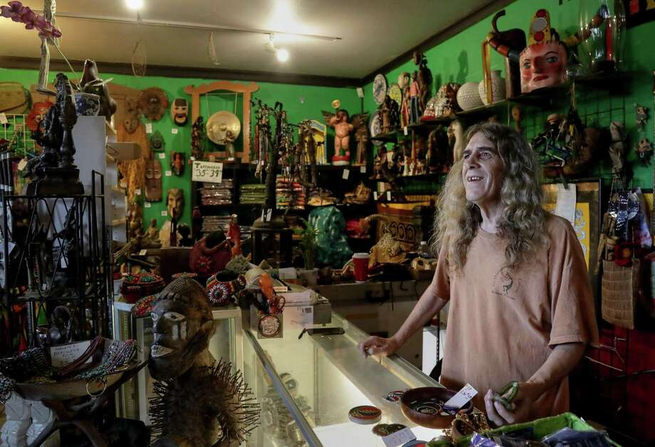 PHOTOS: Tribal Grounds in Montrose is for seekers  Donald Bingham, owner of Tribal Grounds, smiles while talking about some of the items in his store. >>>See more of Tribal Grounds in Montrose.... Photo: Jon Shapley, Staff Photographer / Houston Chronicle / © 2018 Houston Chronicle
