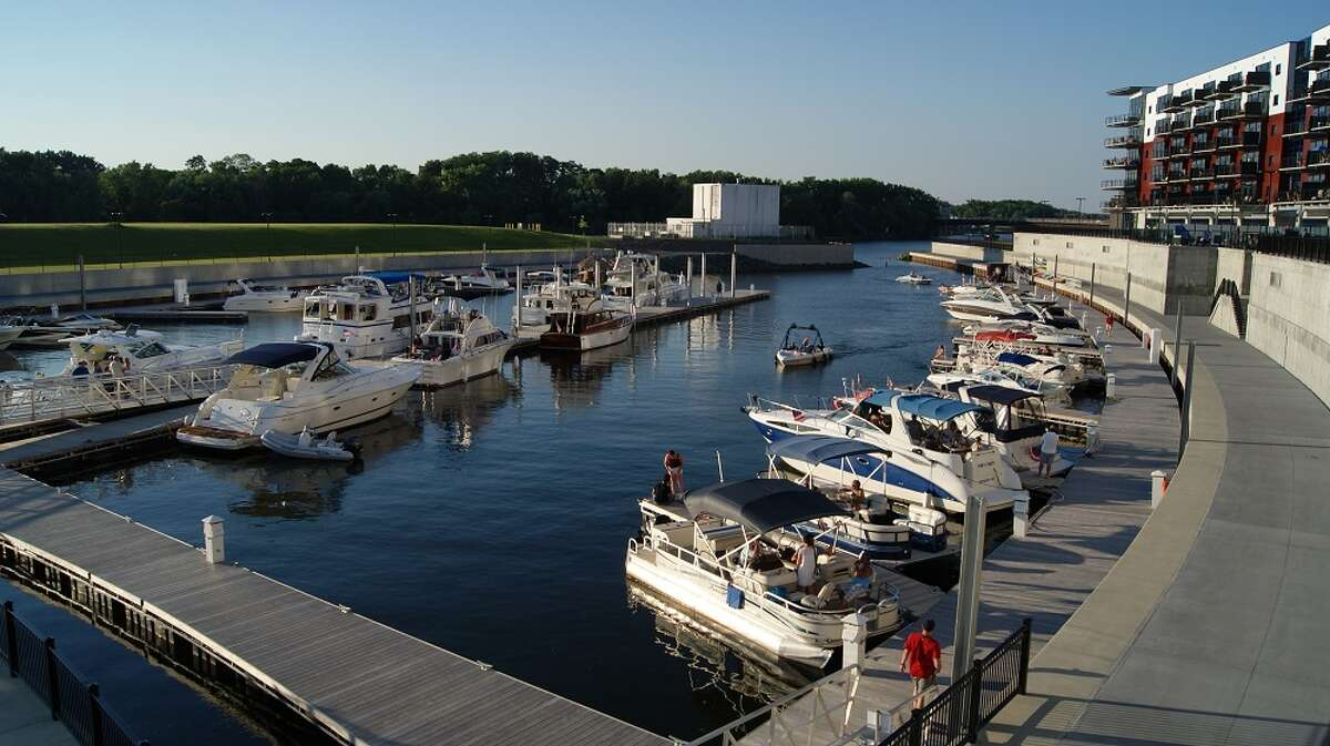 Rivers Casino & Resort brings in the crowds for Schenectady's Harbor Jam outdoor summer concert series at the Mohawk Harbor Amphitheater in Schenectady, (Ali Stewart)