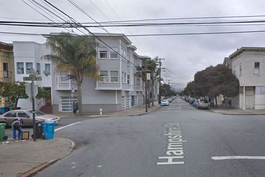 A 33-year-old woman was shot in San Francisco's Mission District on Tuesday night, police said. Photo: Google /
