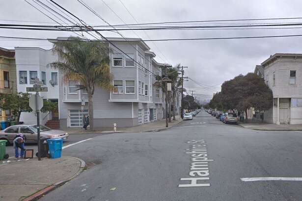 A 33-year-old woman was shot in San Francisco's Mission District on Tuesday night, police said.