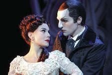 Bronson Norris Murphy as The Phantom with Meghan Picerno as Christine Daaé.