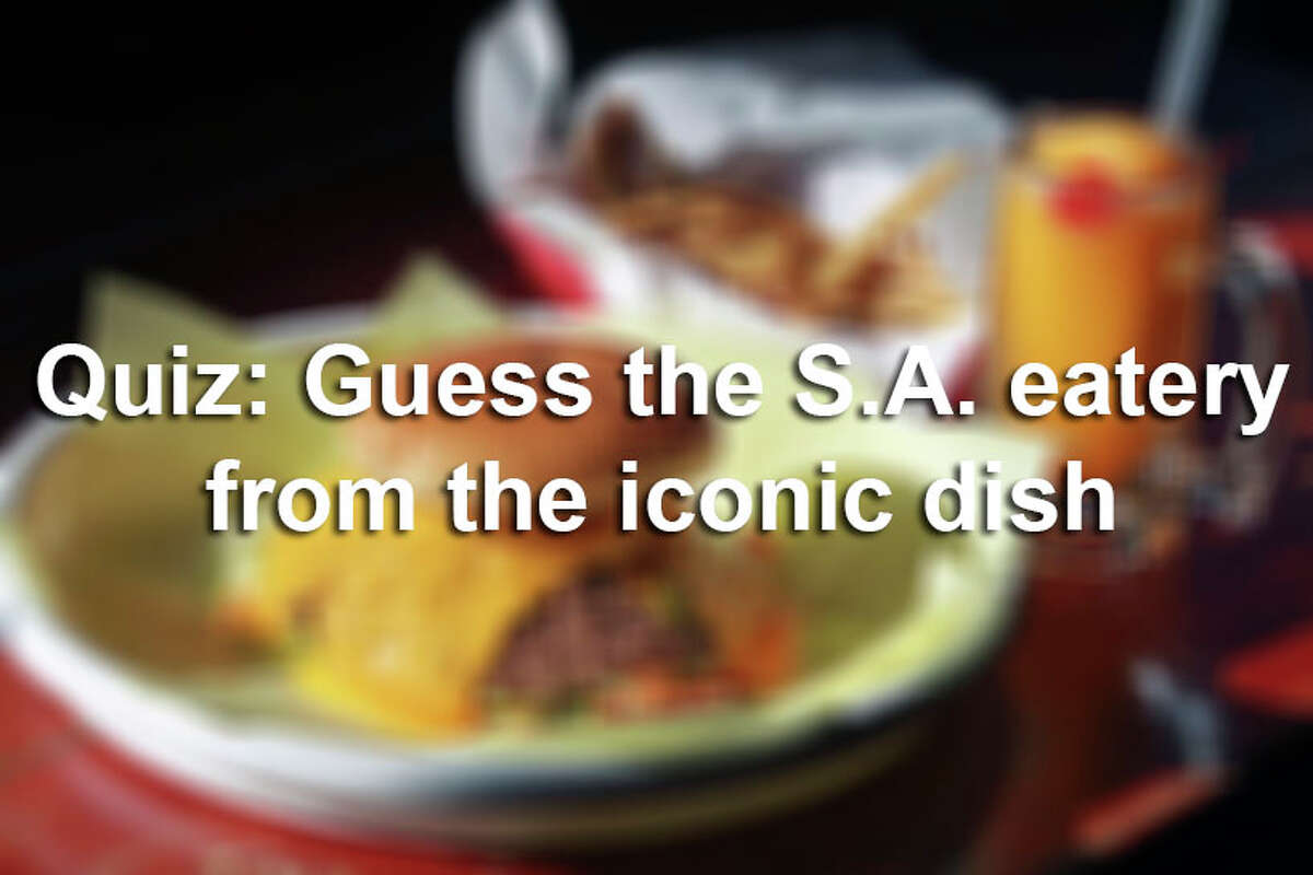 Locals have given restaurants the taste test, now it's time to put the foodies to the test. Can you guess which restaurant serves each of the recognizable dishes and drinks in the gallery above, just by looking at the photo?