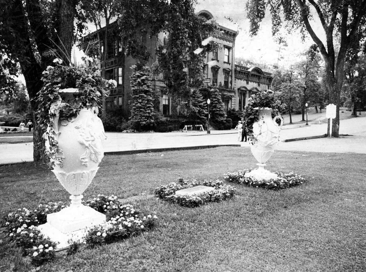 Saratoga Springs Congress Park, July 7, 1963. (Times Union Archive)