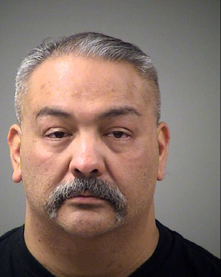 Leo Martinez, 48, faces a charge of terroristic threat. He was booked into the Bexar County Jail early Wednesday on a $5,000 bond and has since bailed out of jail, according to online records. Photo: Bexar County Jail