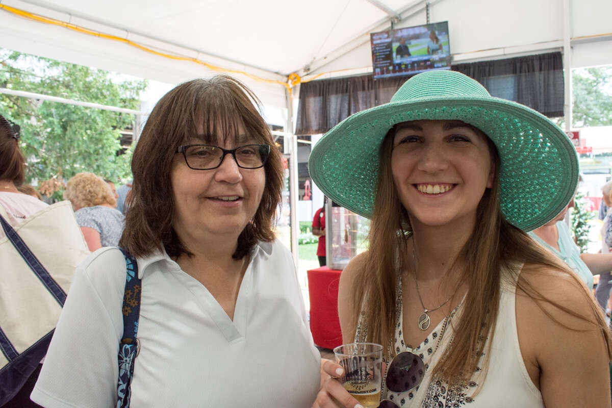 Were you Seen in the Coca-Cola Saratoga Pavilion during Adirondacks Day at Saratoga Race Course on Wednesday, August 15, 2018?