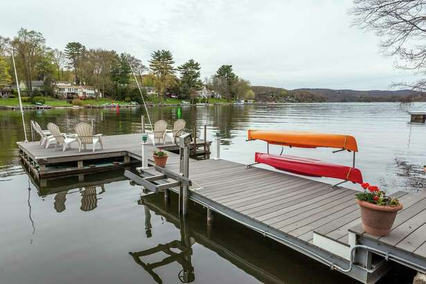 Waterfront homes, such as this one on Candlewood Lake in Danbury, Conn., are popular as second homes.