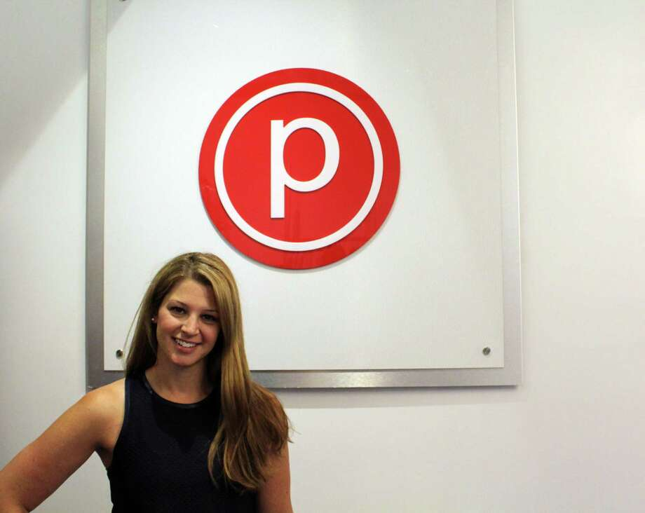 Melissa Buch, manager and instructor at Pure Barre. Taken Aug. 13. Photo: /provided By Lynandro Simmons /Hearst Media