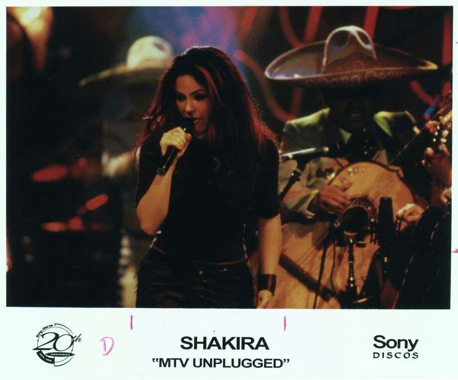 "Shakira on ""MTV Unplugged."" Photo: No Info / Sony Discos / Handout photo"