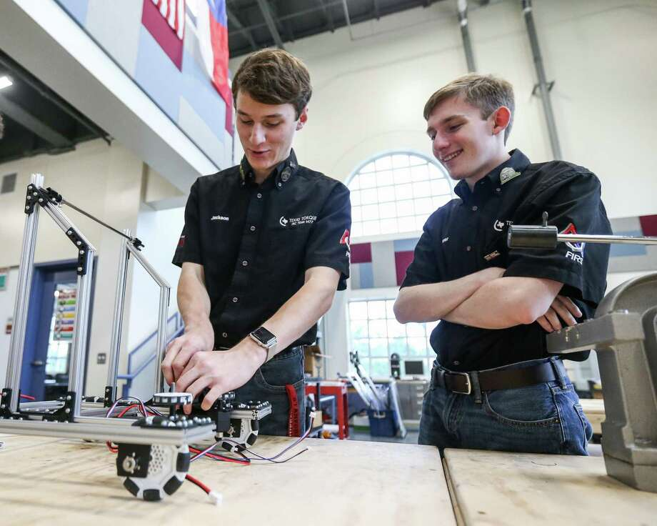 Conroe Isd Robotics Team Helps Beleaguered Afghan Squad Houston