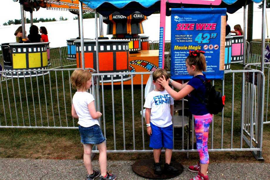 The Midland County Fair was packed with people on Wednesday, Aug. 15. Photo: Kate Carlson
