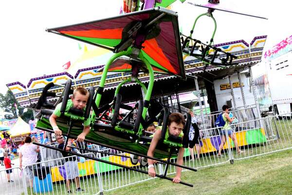 The Midland County Fair was packed with people on Wednesday, Aug. 15.