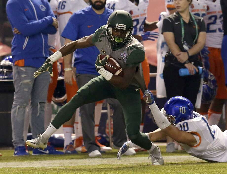 Baylor wide receiver and Willis alum Chris Platt, shown here in 2016, could be a member of your Yahoo Fantasy College Football team this fall. Photo: Rick Scuteri, FRE / Associated Press / FR157181 AP