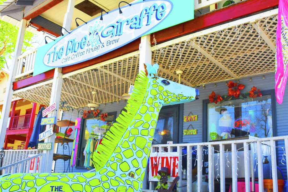 The Blue Giraffe in Old Town Spring. Photo: Tony Gaines, Photographer
