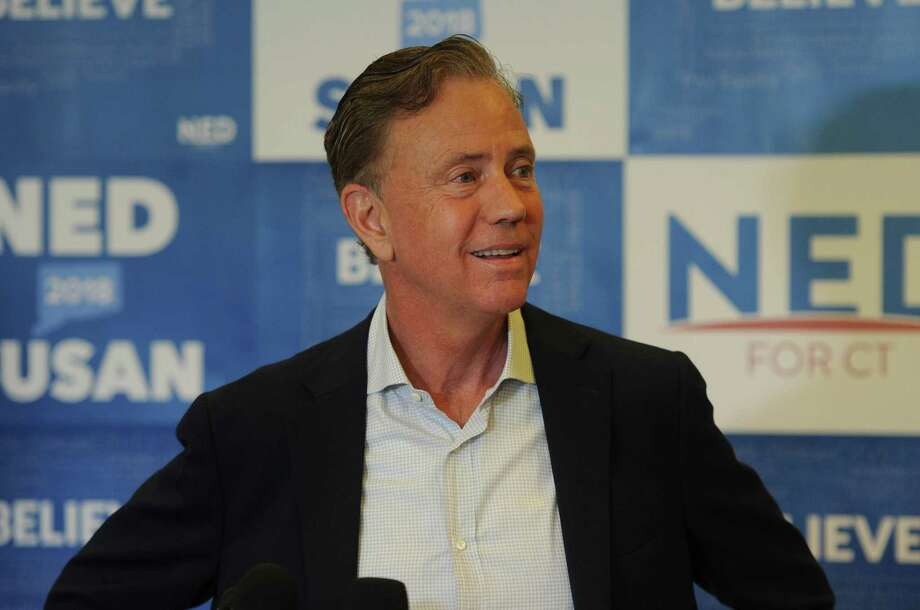 Ned Lamont meets the media at his New Haven headquarters on Wednesday, one day after winning he Deomocratic primary for governor over Bridgeport Mayor Joe Ganim. Photo: Brian A. Pounds / Hearst Connecticut Media / Connecticut Post