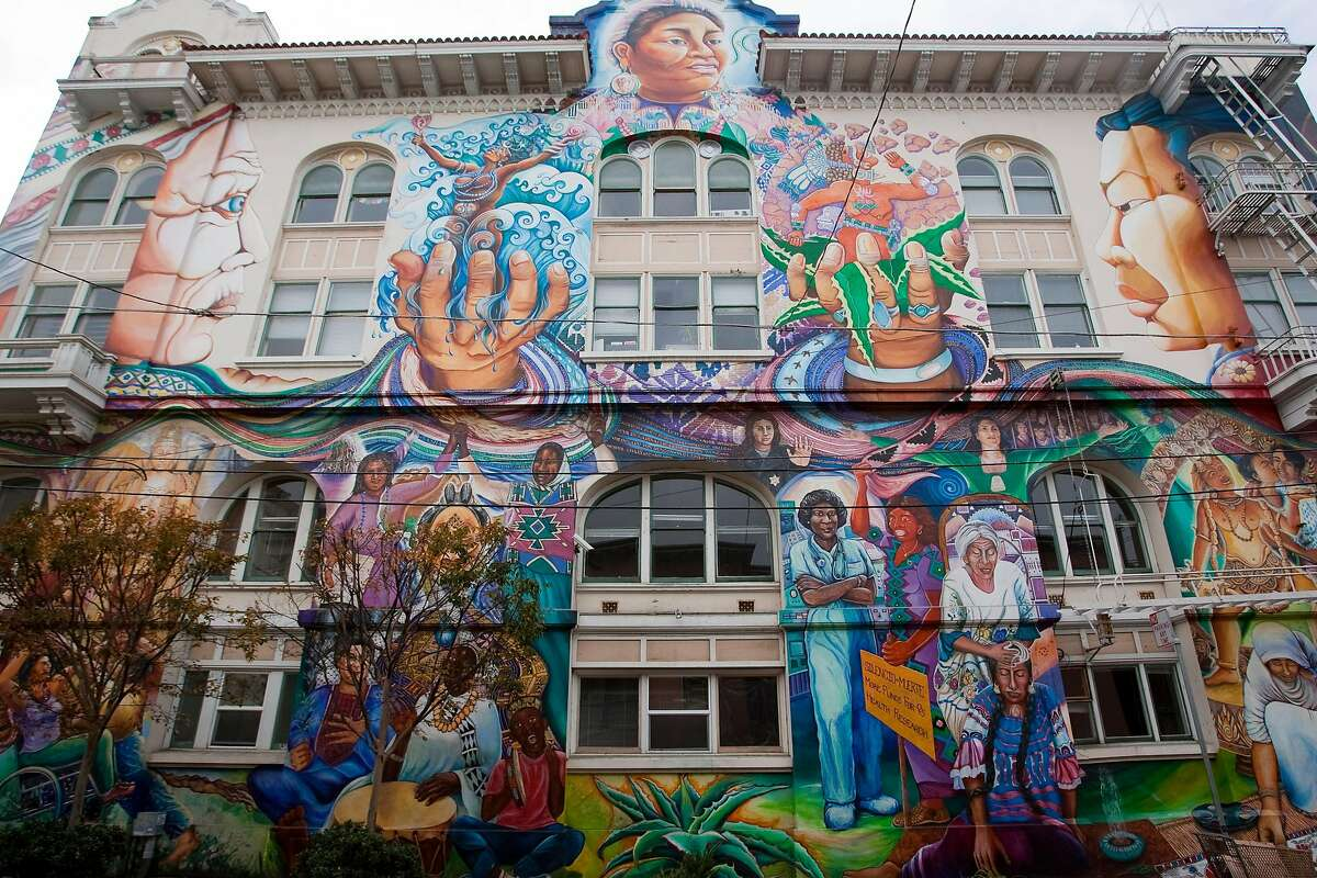 The Women's Building in the Mission District on December 19, 2010 in San Francisco, Calif. Photograph by David Paul Morris