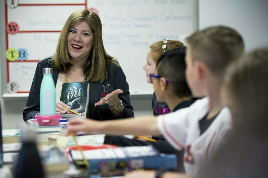 Tomball ISD superintendent Martha Salazar-Zamora had her contract extended for an additional year until June 30, 2021 and a salary increase. Photo: Brett Coomer, Staff / Houston Chronicle / © 2018 Houston Chronicle