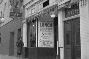 Black Cat bar on Montgomery in San Francisco. Raided and closed by San Francisco Police Department.   Chronicle negatives .. photographer unidentified lgtb travel