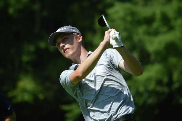 John Abbott won the Connecticut Public Links championship on his home course, Timberlin Golf Club, on Wednesday.