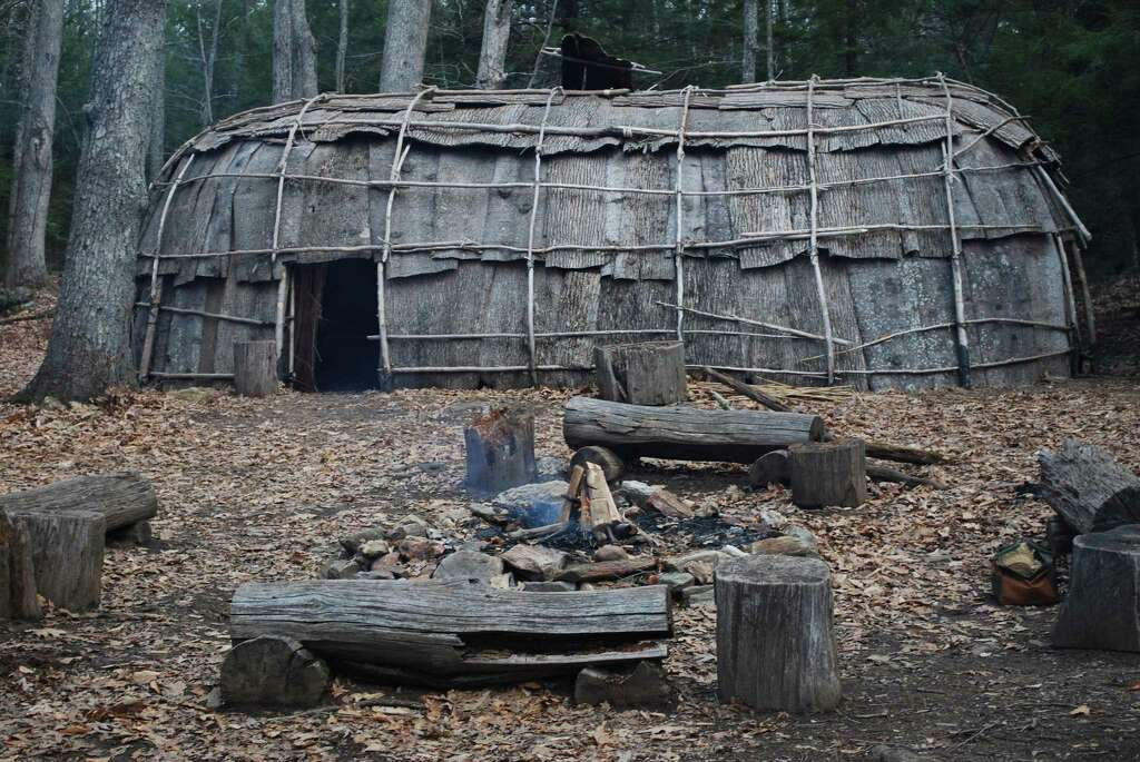The Institute for American Indian Studies in Washington, Conn., is about to begin rebuilding its 16th-century replicated Algonkian village. Photo: Janet Serra / Contributed Photo / Connecticut Post Contributed