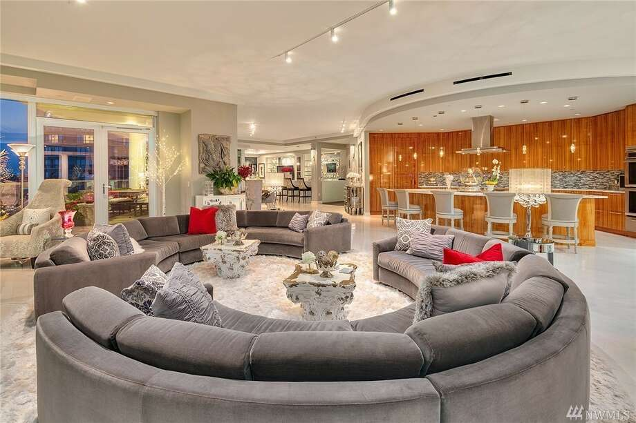 With 50 Shades of Grey connection and over 5,000 square feet of opulence, this Escala penthouse asks $11.5M Photo: Scott Wasner • Realogics Sotheby's Int'l Rlty