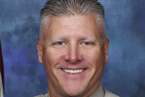 This undated photo provided by the California Highway Patrol shows CHP motorcycle officer Kirk Griess. Officer Griess and a man he had pulled over were both killed after a truck hit them in the San Francisco Bay Area. Griess was pronounced dead at a hospital after the morning crash in Fairfield, Calif., Friday, Aug. 10, 2018. (California Highway Patrol via AP)