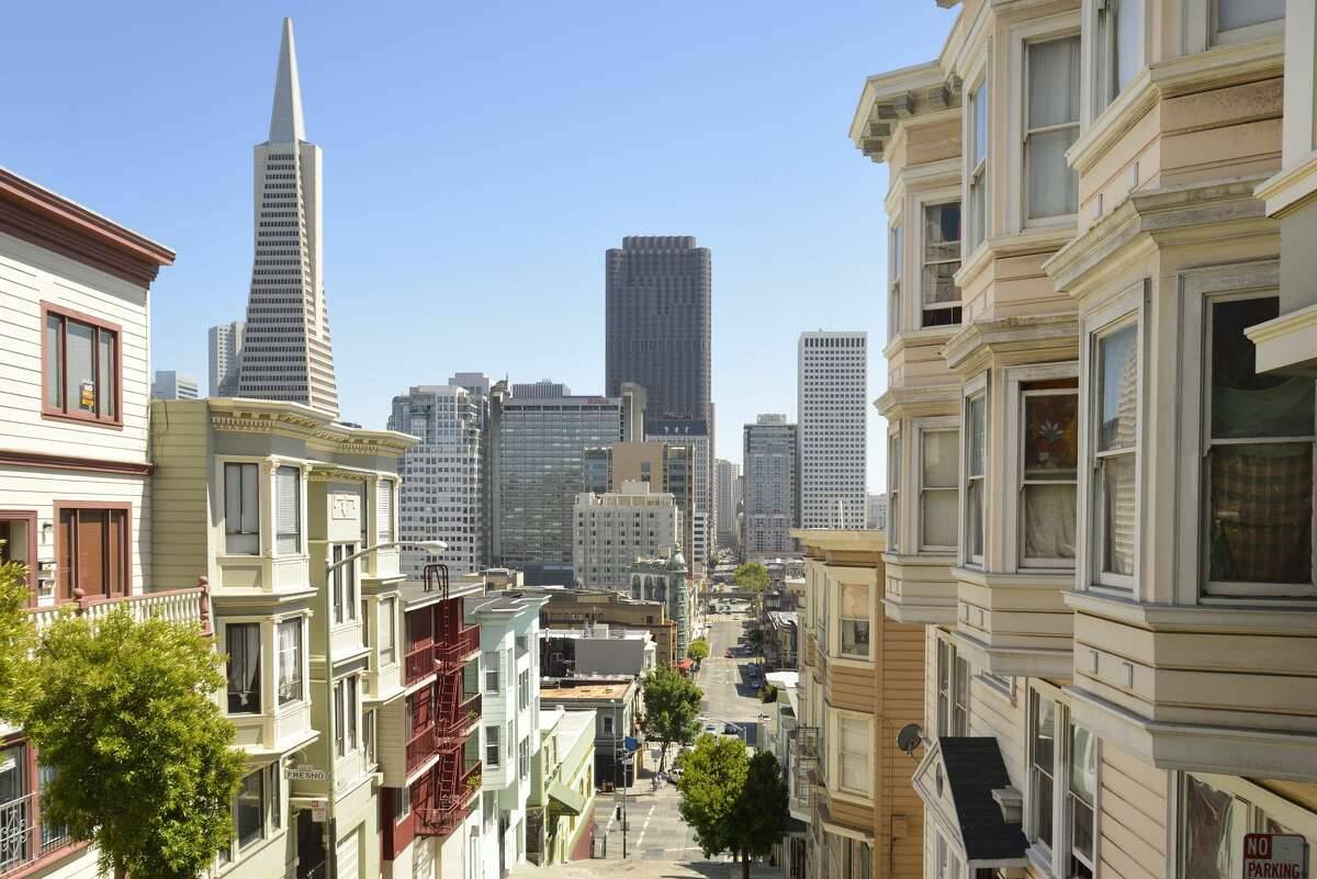 The Transamerica Pyramid has reportedly sold for