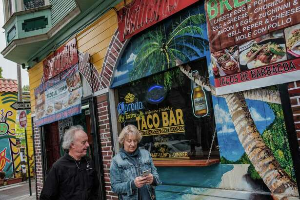 A taco bar in San Francisco's Mission District would not have been on Chronicle restaurant critic Michael Bauer's radar.