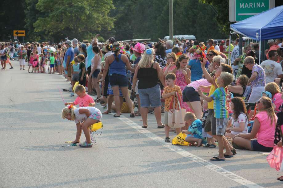 These are scenes from Wednesday's Parade of Fools Parade in Caseville, as part of the city's annual Cheeseburger Festival. Photo: Bradley Massman/Huron Daily Tribune