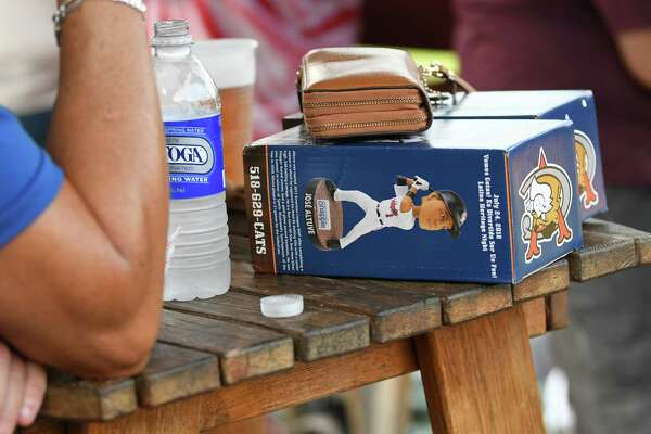 It was bobblehead day as the Tri-City ValleyCats took on the Connecticut Tigers at Joe Bruno Stadium on Wednesday, Aug. 15, 2018 in Troy, N.Y. (Lori Van Buren/Times Union)