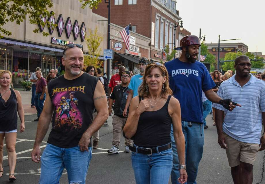 The 13th annual Middletown Motorcycle Mania roared onto Main Street Wednesday, August 15, 2018. Hundreds of motorcycles and thousands of riders and enthusiasts came out for one of the cities premier events of the summer. Were you SEEN? Photo: Michelle V. France