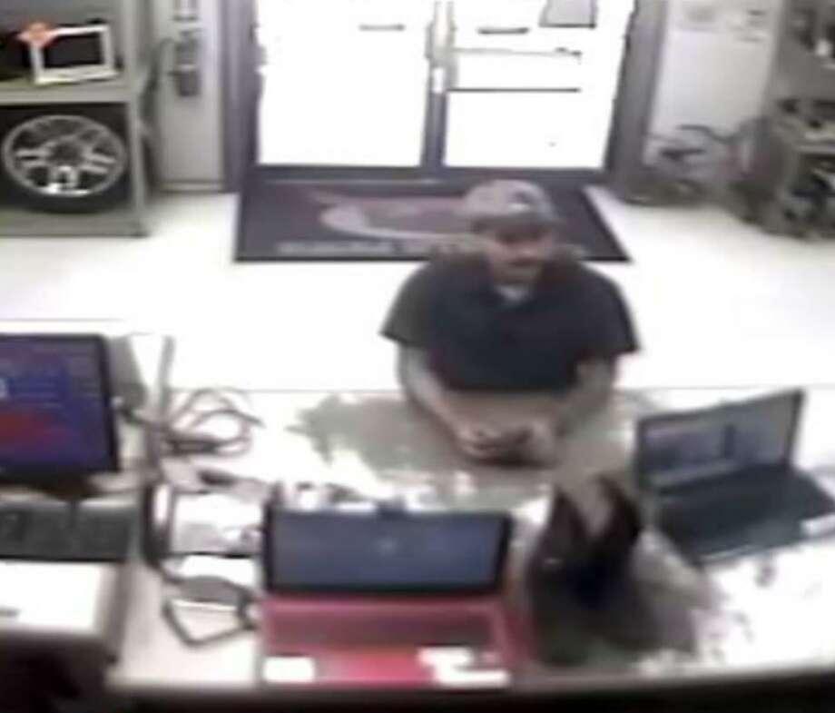 Laredo police said this man pawned several items using a stolen identification. Photo: Courtesy Photo /Laredo Police Department