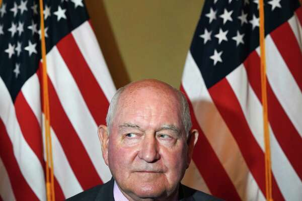 Agriculture Secretary Sonny Perdue during an event at the U.S. Embassy in Buenos Aires, Argentina, on July 28, 2018.