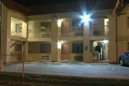 At least one person was robbed at an inn on Highway 290 and 43rd Street on Wednesday, Aug. 15, 2018.