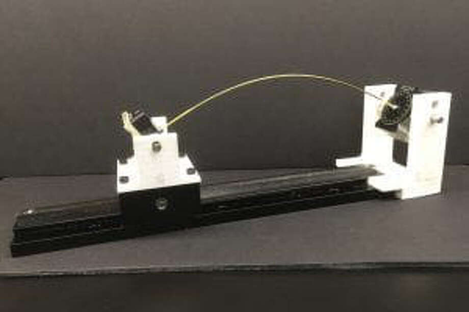 The device used by Heisser and Patil. Photo: Courtesy Researchers-MIT / The Washington Post