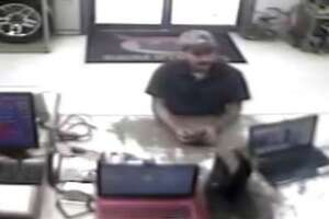 Police are trying to identify a man accused of pawning several items while using a stolen identification.