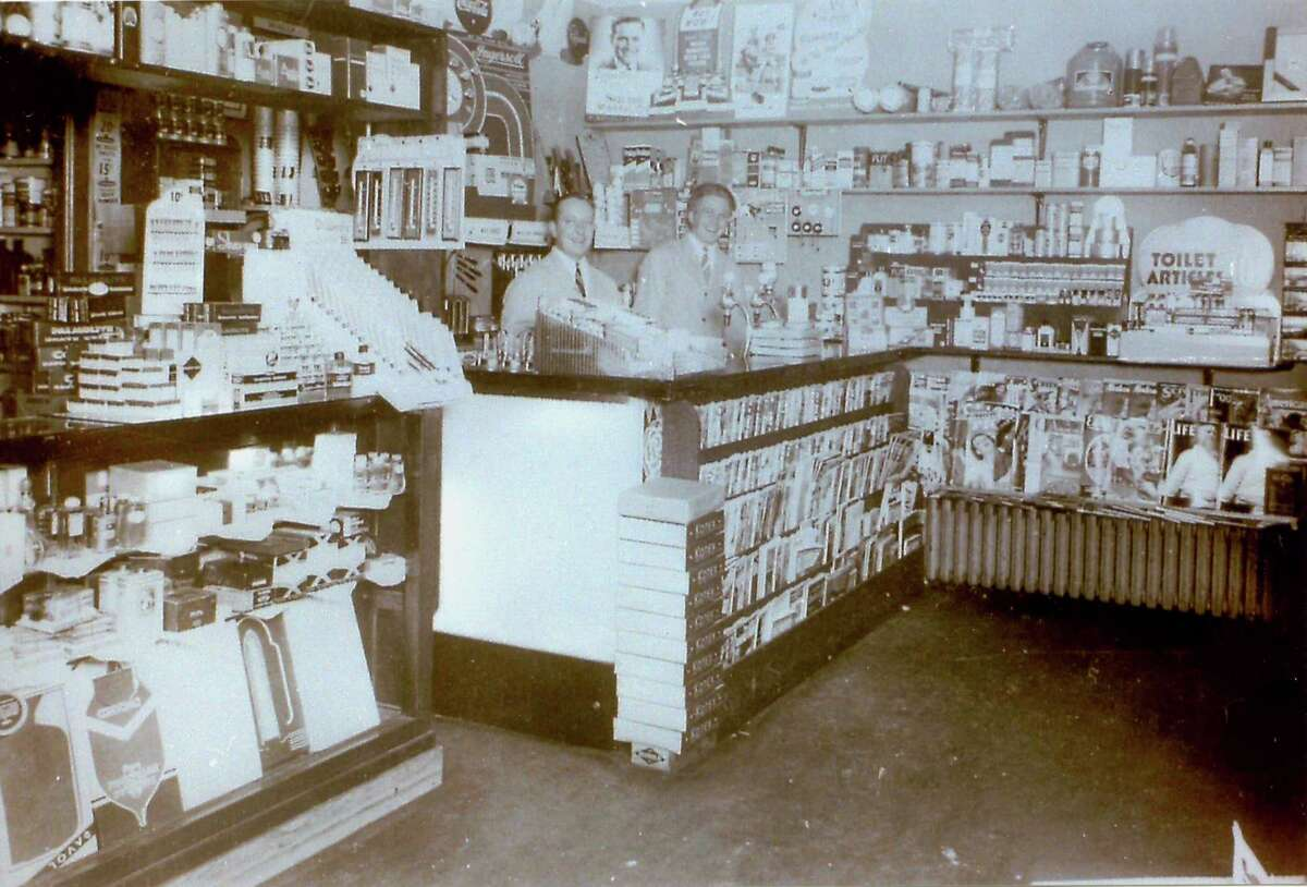 Spectrum/ Gunn Historical Museum's Washington History Club in the Morning will next meet Sept. 17 at 10 a.m. at the Washington Senior Center in Bryan Hall Plaza. The topic of discussion will be the history of Washington's pharmacies, including Church, Ford, and Co. Druggists, Waramaug Patent Medicine and Luncheonette, Green Drug, Parks Drug, Robert J. Benham's, The Rexall Drug Store, Washington Pharmacy, New Preston Pharmacy and others. All past owners, pharmacists, family members, employees, and customers are invited to attend to share history, conversations, photographs and more. Above, Harold