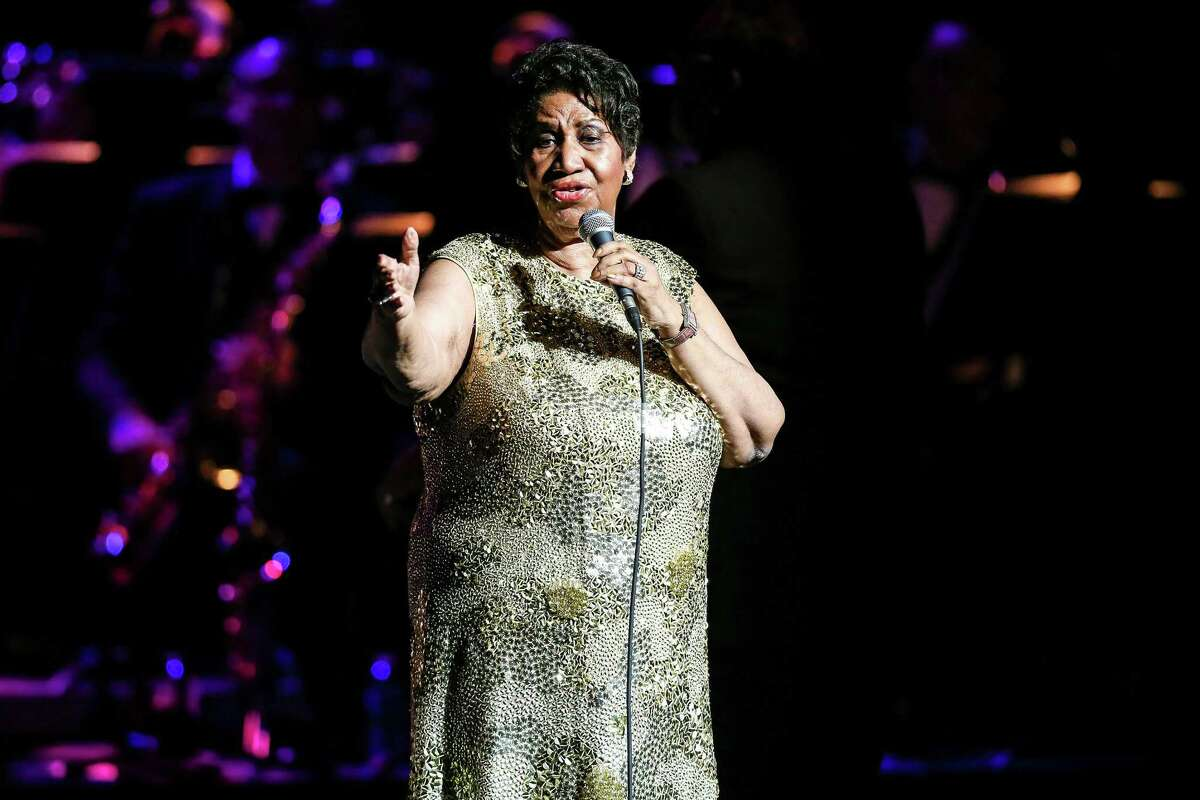 Music legend Aretha Franklin brings her 2016 Tour to the Durham Performing Arts Center on May 19, 2016 in Durham, N.C. Franklin, whose health has long been on the decline, is said to be suffering major health woes, according to reports. (Andy Martin Jr./Zuma Press/TNS)