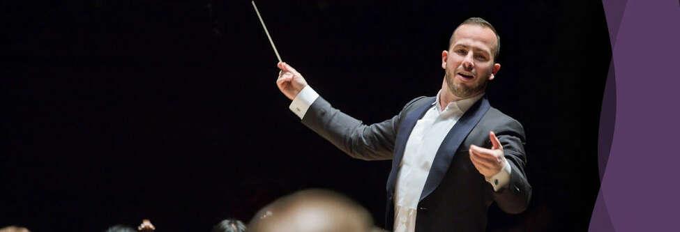 Yannick Nézet-Séguin, conductor of the Philadelphia Orchestra.