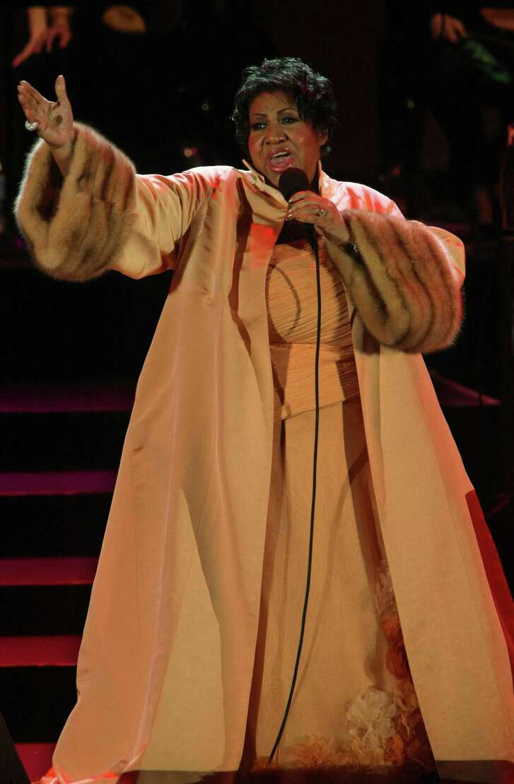 Aretha Franklin performs at the Hollywood Bowl in Hollywood, Calif. on June 26, 2009.