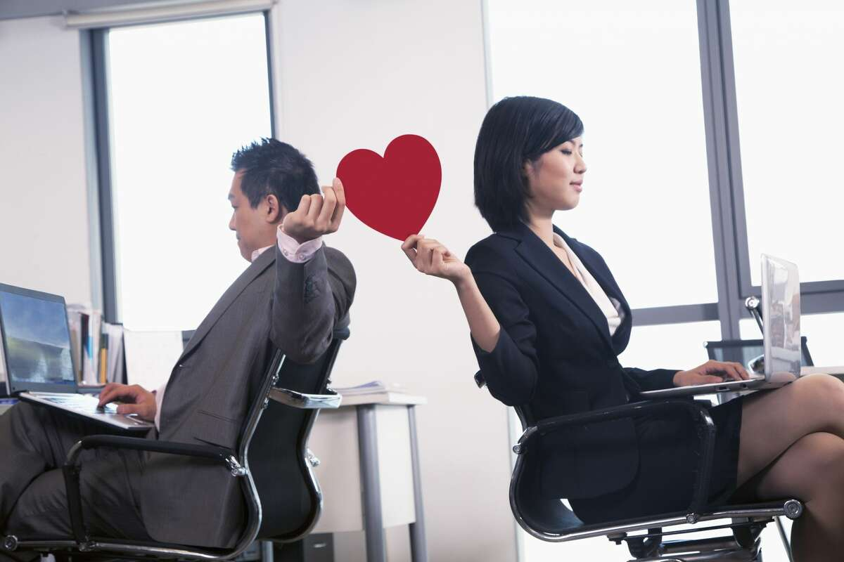 Two co-workers who are married to different partners shared an intimate relationship while working together. KEEP READING: Click or swipe to see which industries have the most office romances.==>