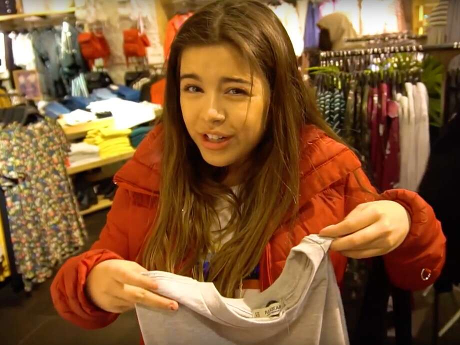 Today's teens are all about streetwear, athleisure and fast fashion. Nike, Adidas and Forever 21 dominate the Gen Z shopping cart. Photo: Sophia Grace/YouTube